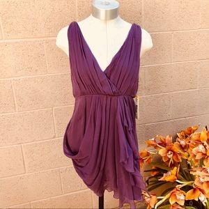 •Alice + Olivia• NWT $297 Open back Women's Dress